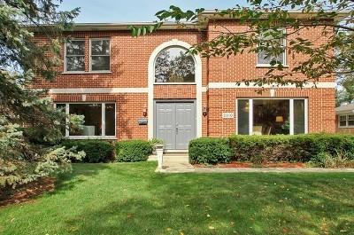 Wilmette Single Family Home For Sale: 2510 Wilmette Avenue