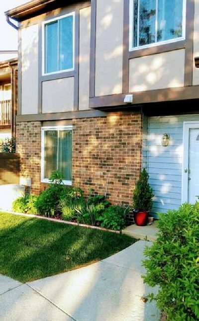 Bolingbrook Condo/Townhouse For Sale: 52 Fernwood Drive #D