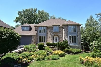 Darien Single Family Home New: 8800 Royal Swan Lane