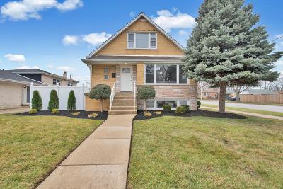 Oak Lawn Single Family Home For Sale: 9200 Parkside Avenue