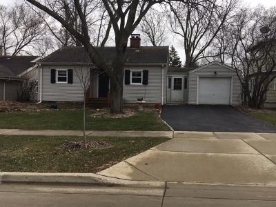 Glen Ellyn Single Family Home New: 383 Hawthorne Boulevard