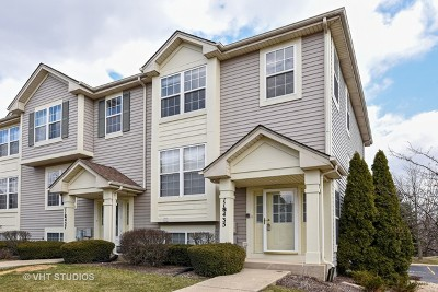 Burr Ridge Condo/Townhouse For Sale: 11s435 Rachael Court