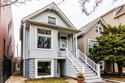 Single Family Home For Sale: 1453 West Melrose Street