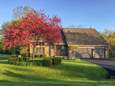 Rockford Single Family Home Price Change: 10740 Quail Hill Cove