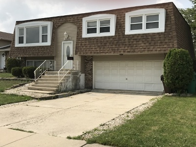 Tinley Park Single Family Home New: 16422 76th Avenue