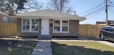 Riverdale Single Family Home For Sale: 14410 South Clark Street