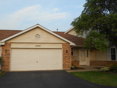 Plainfield Condo/Townhouse New: 21207 Silktree Circle