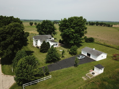 Ogle County Single Family Home Re-Activated: 14744 West Pilgrim Road