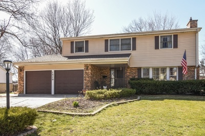 Arlington Heights Single Family Home For Sale: 1529 East Rosehill Drive