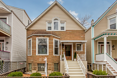 Cook County Single Family Home New: 1633 West Berwyn Avenue