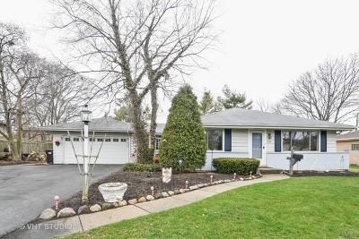 Glenview Single Family Home For Sale: 1010 Huber Lane