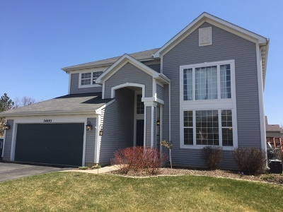 Round Lake Single Family Home For Sale: 34093 North Needlegrass Court