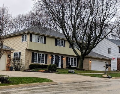 Downers Grove Single Family Home For Sale: 3660 Venard Road