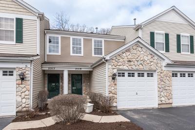 Plainfield Condo/Townhouse New: 2519 Oak Tree Lane