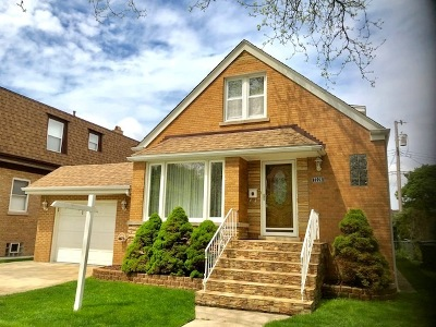 Chicago Single Family Home New: 7228 West Hood Avenue