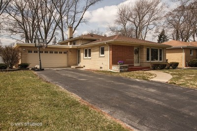 Palos Heights Single Family Home For Sale: 12748 South Westgate Drive