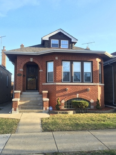 Chicago Single Family Home New: 5919 West Eddy Street