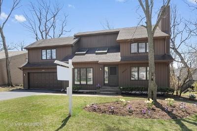 Woodridge Single Family Home Price Change: 2937 Two Paths Drive