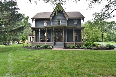 St. Charles Single Family Home For Sale: 6n294 Burr Road