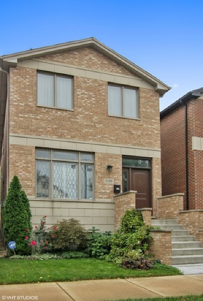 Chicago Single Family Home Re-Activated: 1145 West 34th Place
