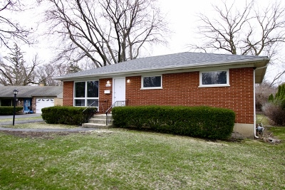 Glenview Single Family Home Price Change: 3407 Highland Court