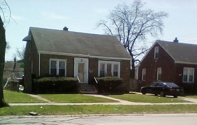 Dolton  Single Family Home New: 205 East 142nd Street