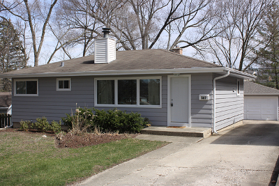 Glen Ellyn Single Family Home New: 587 Wilshire Avenue
