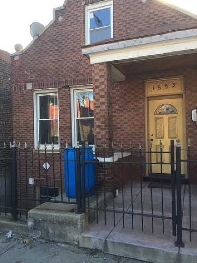 Chicago Single Family Home New: 1653 West Cermak Road