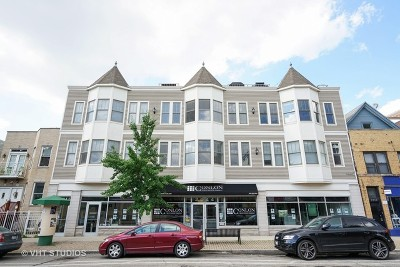 Chicago Condo/Townhouse For Sale: 2044 West Roscoe Street #2S