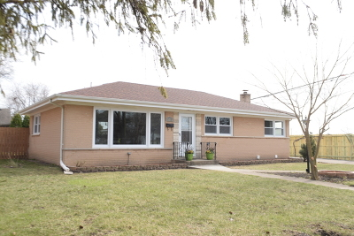 Glenview Single Family Home New: 3253 Ronald Road