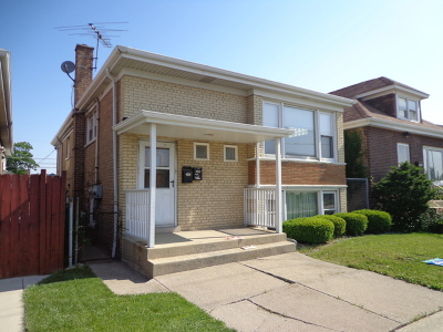 Chicago Multi Family Home New: 5526 West 65th Street
