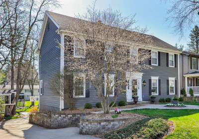 Glen Ellyn Single Family Home Price Change: 287 Spring Avenue