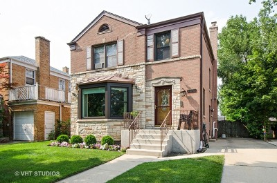 Chicago Single Family Home New: 2840 West Coyle Avenue