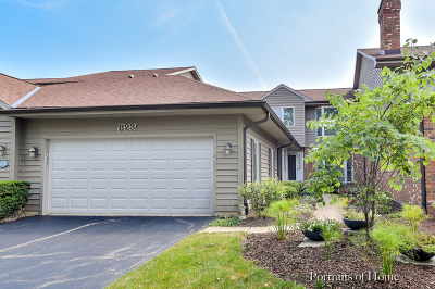 Glen Ellyn Condo/Townhouse For Sale: 823 Saddlewood Drive