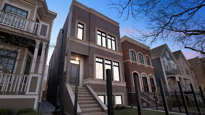 Cook County Single Family Home New: 3823 North Marshfield Avenue