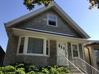 Chicago Single Family Home New: 6251 West Warwick Avenue