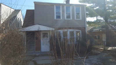Chicago Single Family Home New: 3523 North Pontiac Avenue