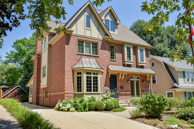 Naperville Single Family Home New: 352 South Sleight Street