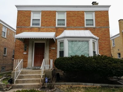 Single Family Home For Sale: 5710 North Mozart Street