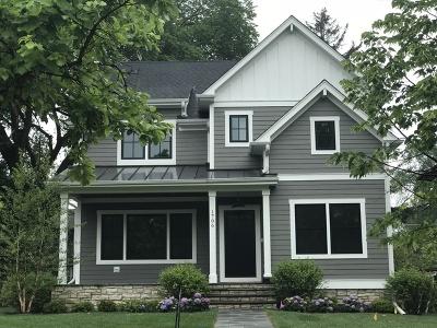 Wilmette Single Family Home New: 1706 Washington Avenue