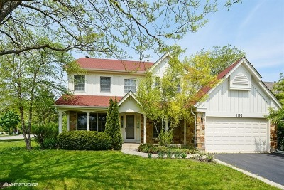 Lake Zurich Single Family Home For Sale: 1192 Stratford Lane