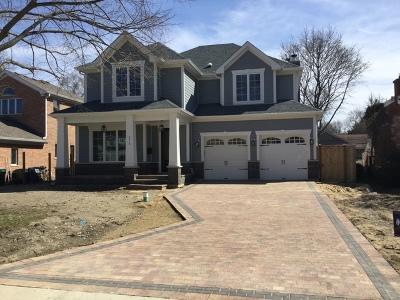 Wilmette Single Family Home New: 2315 Birchwood Avenue