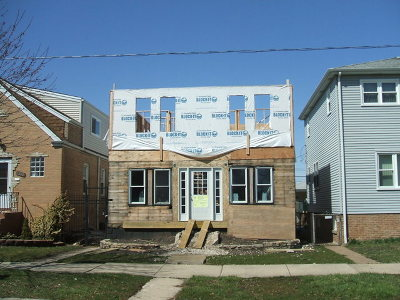Chicago IL Single Family Home New: $220,000