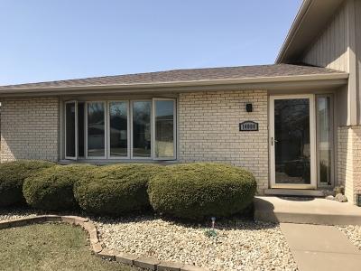 Orland Park  Single Family Home New: 14000 Charleston Drive