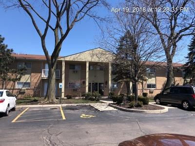 Hanover Park Condo/Townhouse Contingent: 2290 Breezewood Terrace #8