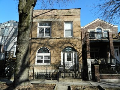 Wicker Park, Bucktown Multi Family Home For Sale: 1825 North Marshfield Avenue