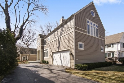 Winnetka Single Family Home For Sale: 1244 Oak Street
