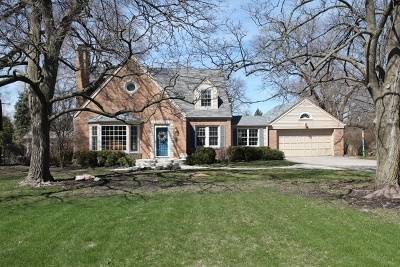 Glenview Single Family Home New: 1420 Overlook Drive