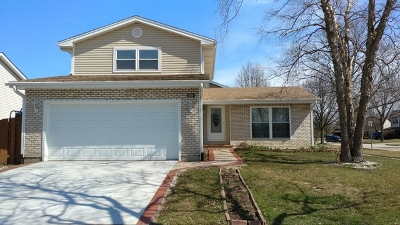 Hoffman Estates Single Family Home New: 1930 Crescent Court