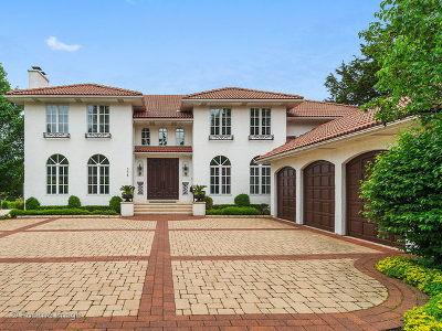 Glen Ellyn Single Family Home For Sale: 578 Hill Avenue